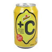 +C Lemon Flavoured Soda (玉泉檸檬梳打)