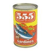 Sardines In Chilli Tomato Sauce (辣味茄汁沙甸魚)