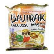 Instant Noodles Assorted Clam Flavour (Bajirak Kalgugsu) (三養蜆湯拉麵)