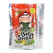 Big Sheet Japanese Crispy Seaweed (Spicy) (小老板大紫菜 (香辣))