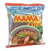 Instant Noodles Spicy Pork (Moo Nam Tok) (媽媽即食麵)