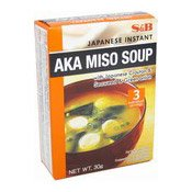 Japanese Instant Aka Miso Soup (日本赤麵豉湯)