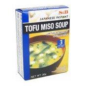 Japanese Instant Tofu Miso Soup (日本豆腐麵豉湯)