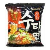 Sutah Ramen Instant Noodles (Hot & Spicy Beef) (三養手打麵)