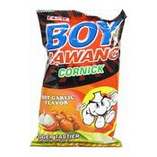 Boy Bawang Cornick (Hot Garlic Flavour) (粟米小食 (辣蒜味))