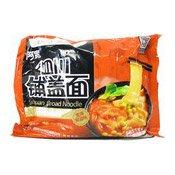 Instant Sichuan Broad Noodles (Tomato & Sour Flavour) (阿寬鋪蓋麵 (番茄))