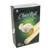 Choco Roll Cream Wafer (Green Tea) (義美綠茶朱古力卷)