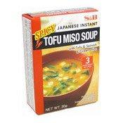 Spicy Tofu Miso Soup (Instant) (日本辣豆腐麵豉湯)