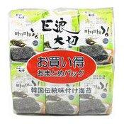 Seasoned Seaweed Multipack (Laver) (紫菜小食)
