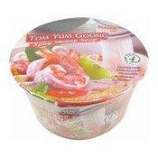 Tom Yum Goong Instant Rice Noodles Bowl (媽媽冬陰功湯河(酸辣蝦味))