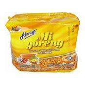 Mi Goreng Instant Noodles Multipack (Kari Kapitan) (甲必丹咖哩雞乾撈麵)