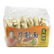 Taiwanese Style Sliced Noodles (壽桃台式刀削麵)