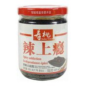 Spicy Black Bean Sauce (壽桃香辣豆豉醬)