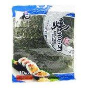 Roasted Sushi Seaweed (Yaki Nori) (元和燒紫菜)