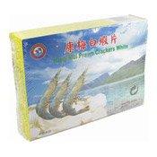 Hong Mui Prawn Crackers White (兄弟康梅白蝦片)