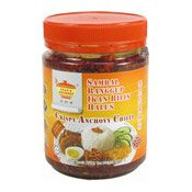 Crispy Anchovy Chilli (Sambal Rangup Ikan Bilis Halus) (田師傅香辣銀魚辣椒)