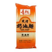 Cream Flavoured Noodles (壽桃爽滑奶油麵)