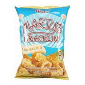 Marty's Cracklin' Vegetarian Chicharon (Plain Salted) (上好佳油爆素豬皮)