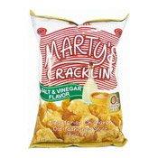 Marty's Cracklin' Vegetarian Chicharon (Salt & Vinegar) (油爆素豬皮 (鹽醋)上好佳)