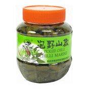 Pickled Green Chillies (魚泉泡辣椒)