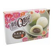 Japanese Mochi Rice Cakes (Red Bean) (和風紅豆麻糬)