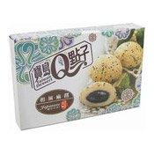 Japanese Mochi Rice Cakes (Sesame) (和風麻糬 (芝麻))