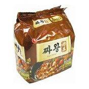 Zha Wang Instant Noodles Multipack (Blackbean Sauce) (農心燒豉汁醬麵)