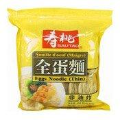 Egg Noodles (Thin) (壽桃全蛋麵 (幼))