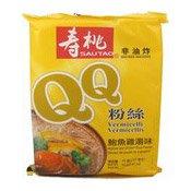 QQ Instant Bean Thread Vermicelli (Abalone & Chicken) (壽桃鮑魚雞湯味粉絲)