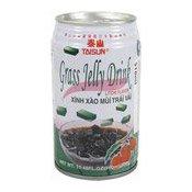 Grass Jelly Drink (Lychee Flavour) (泰山仙草蜜 (荔枝味))