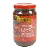 Sichuan Style Hot & Spicy Stir Fry Sauce (李錦記四川麻辣醬)