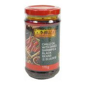Chilli Oil With Dried Shrimps & Black Beans (李錦記金鉤辣椒油)
