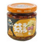Enoki Mushrooms (飯掃光金針菇)