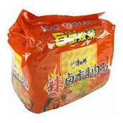 Instant Noodles Multipack (Hot Mixed Spice Beef) (康師傅辣鹵牛肉麵)