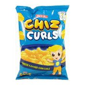 Chiz Curls (Cheese Flavoured Corn Curls) (芝士味薯片)