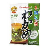 Instant Miso Soup (8 Servings) (日本麵豉湯包 (昆布))