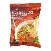 Instant Rice Noodles (Stew Beef) (媽媽紅燒牛肉麵GLUTEN FREE)