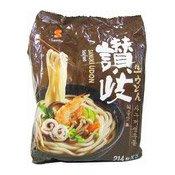 Sanuki Udon Noodle Multipack (Seafood Flavour) (日本烏冬麵)