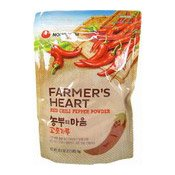 Farmer's Heart Red Chili Pepper Powder (Medium Hot Gochugaru) (韓國辣椒粉)