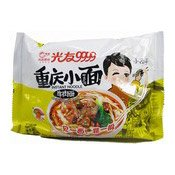 Chongqing Instant Noodles (Non-Fried, Artificial Beef) (光友重慶牛肉麵)