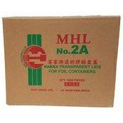 Hakka Transparent Lids Lids Foil Containers (No. 2A) (二號膠蓋)