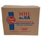 Hakka Transparent Lids For Foil Containers (No. 6A) (6A 外賣膠蓋)