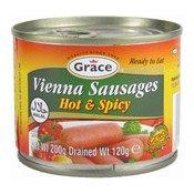 Vienna Sausages (Hot & Spicy) (罐裝辣味腸仔)