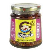 Fried Enokitake (Mushrooms) (飯掃光金針菇)