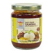 Spicy Shrimp Sauce (Nasi Lemak Sambal) (田師傅椰漿飯辣椒醬)