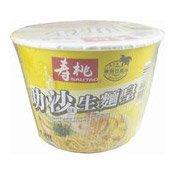 Laksa Instant Noodles (壽桃生麵皇叻沙碗麵 (幼))