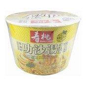Laksa Instant Noodles (壽桃叻沙味非油炸湯麵)