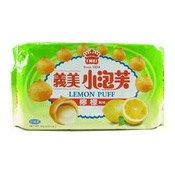 Lemon Puff Biscuits (義美檸檬泡芙)