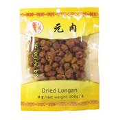 Dried Longans (Dragons Eyes) (金百合龍眼肉)