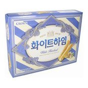 White Heim White Cream Wafers With Hazelnuts (白朱古力味餅)